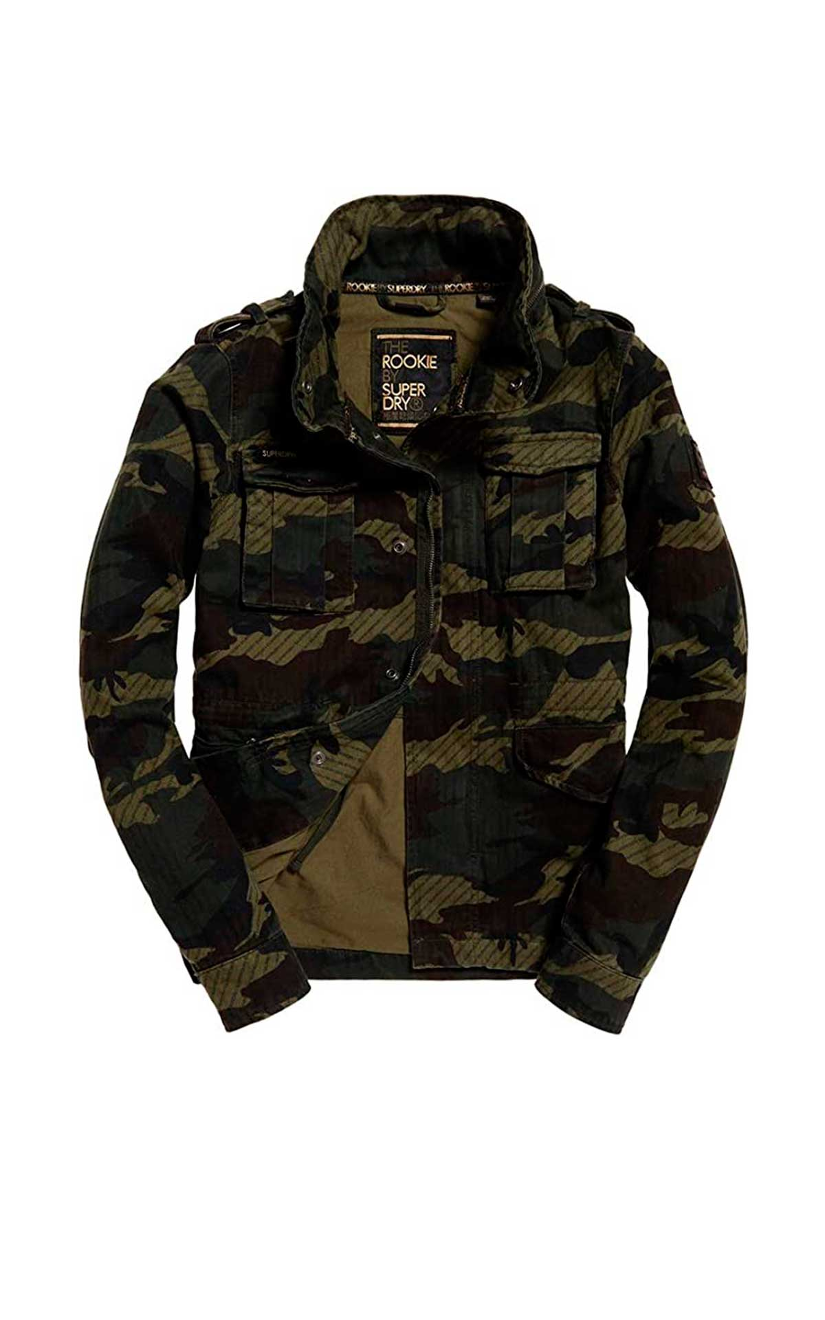 Camouflage jacket Superdry