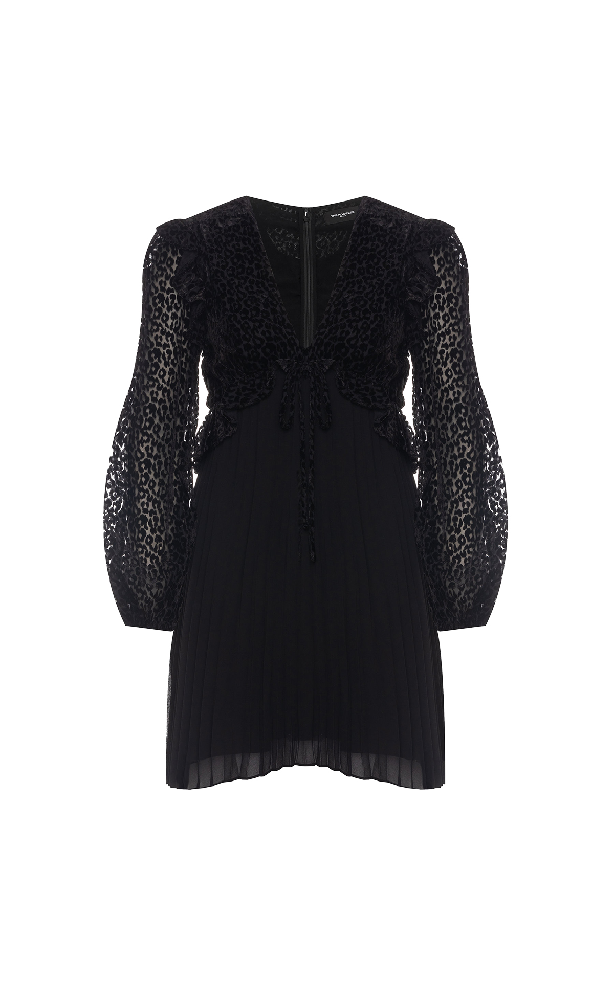 Vestido negro The Kooples