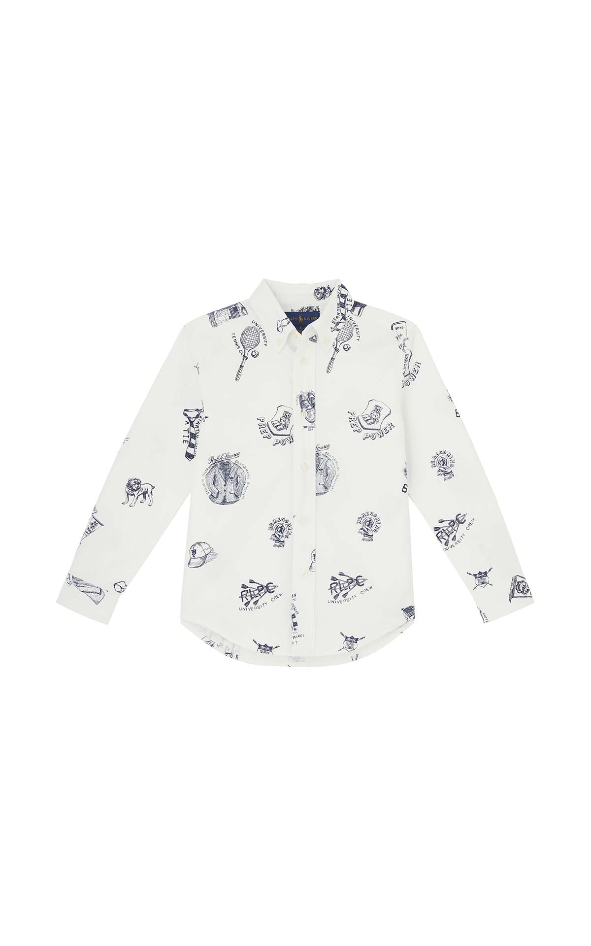 Polo Ralph Lauren Children Printed shirt at The Bicester Village Shopping Collection