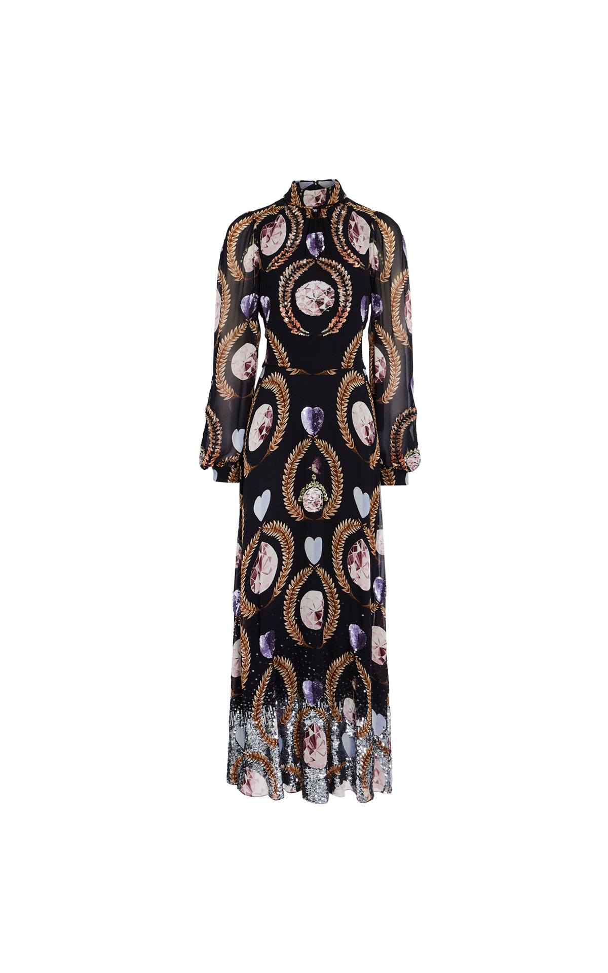 Temperley London Cosmic gown from Bicester Village