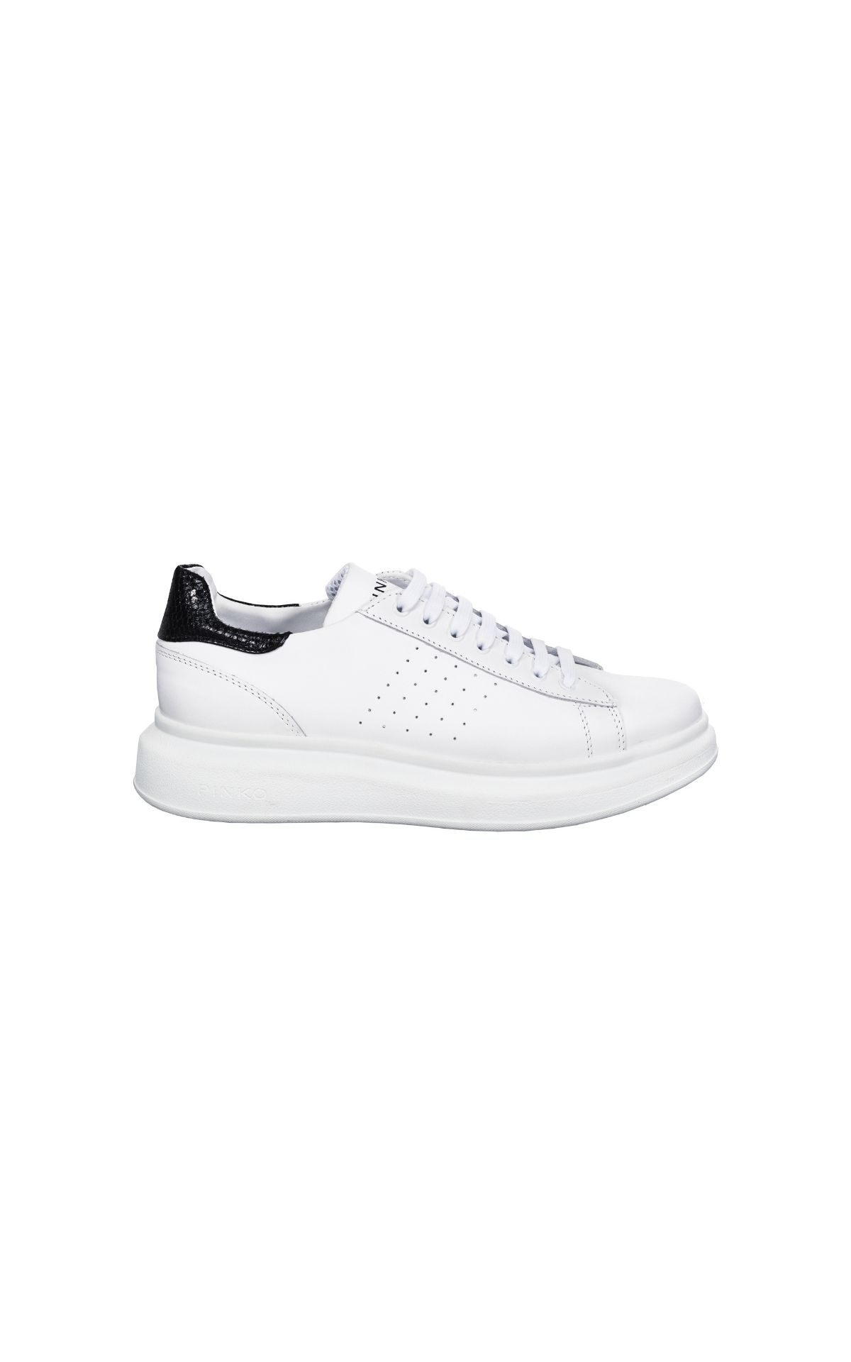 White leather sneakers Pinko