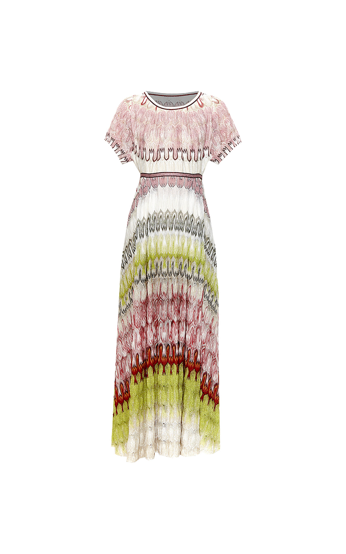 Long printed dress Missoni