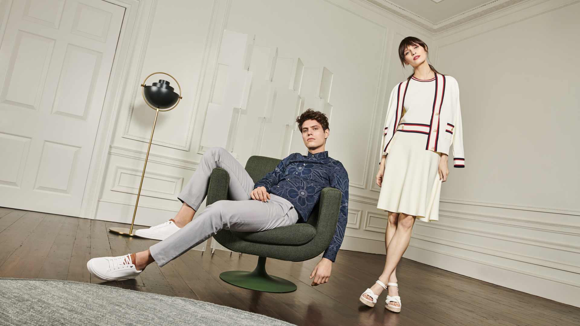 Ted Baker hero image mens womens lifestyle at Bicester Village