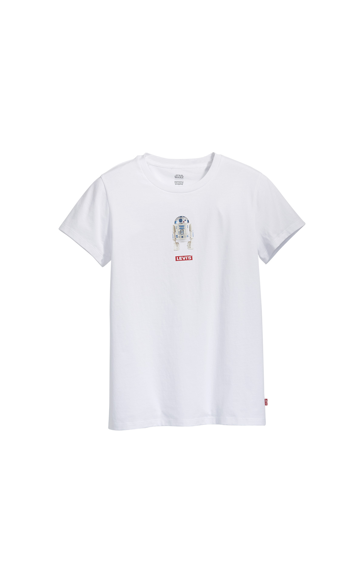 White R2D2 T-Shirt Star Wars Levi's