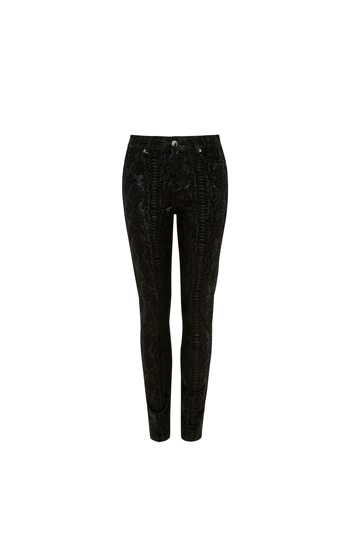Ted Baker Snaykie Snake Effect Skinny Womenswear Jean at The Bicester Village Shopping Collection
