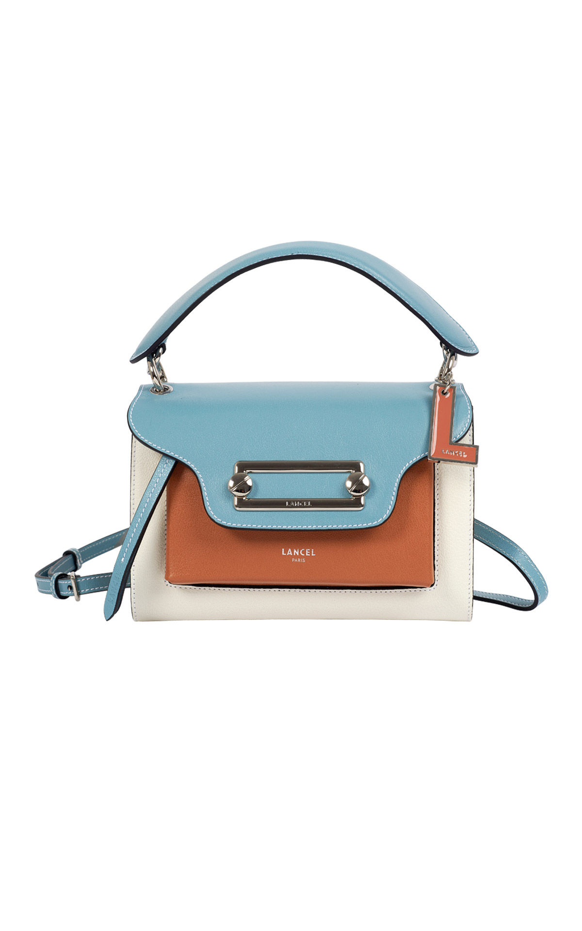 Blue bag Lancel