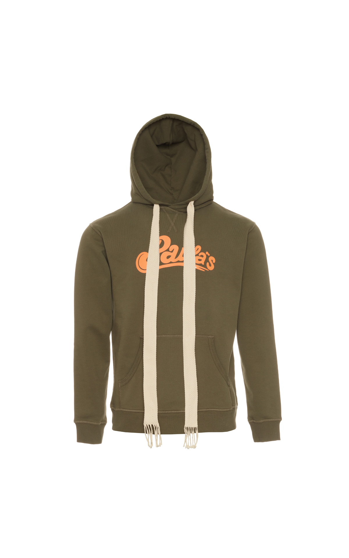 Loewe Paula hoodie khaki green from Bicester Village