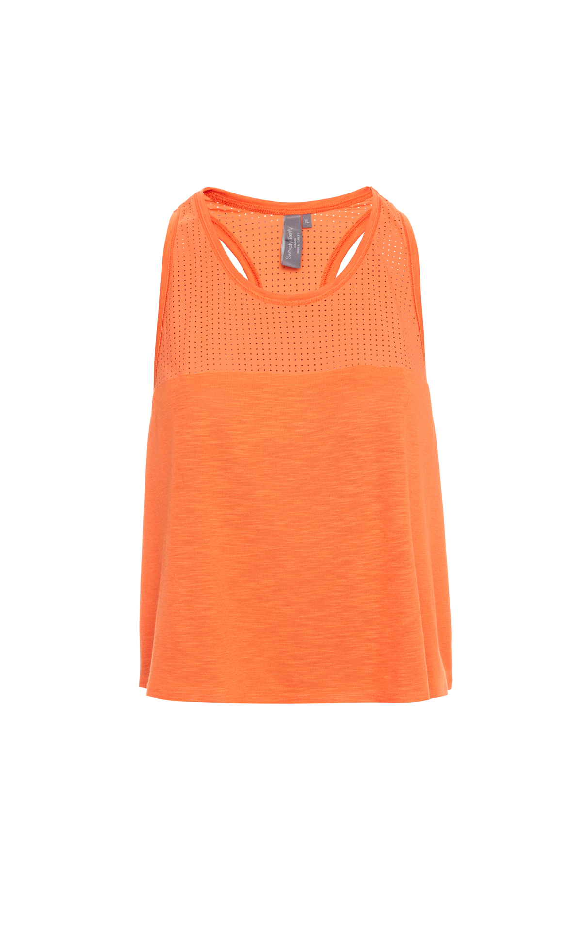 Sweaty Betty  Orange breeze crop run from Bicester Village