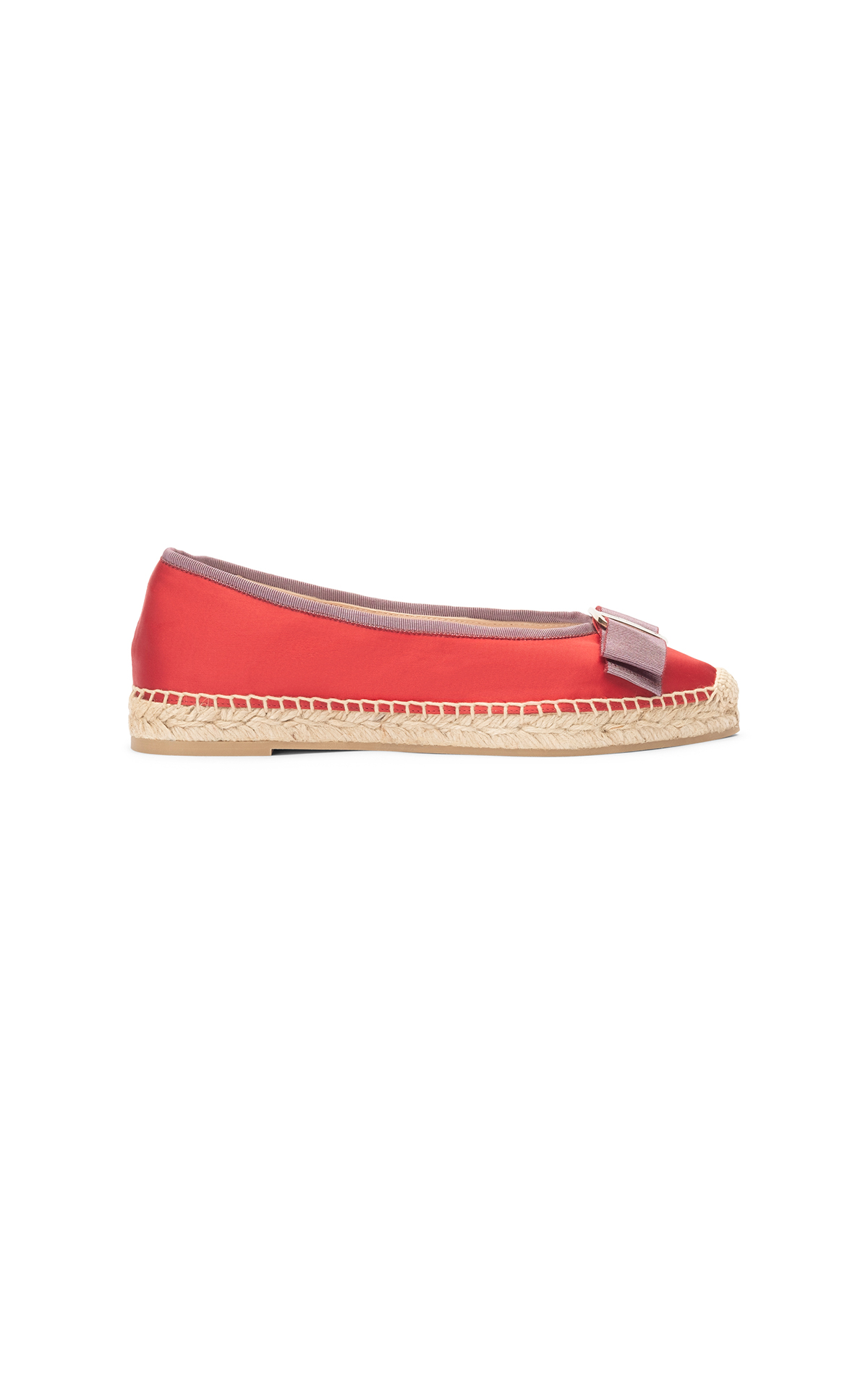 Salmon espadrille woman Lottusse