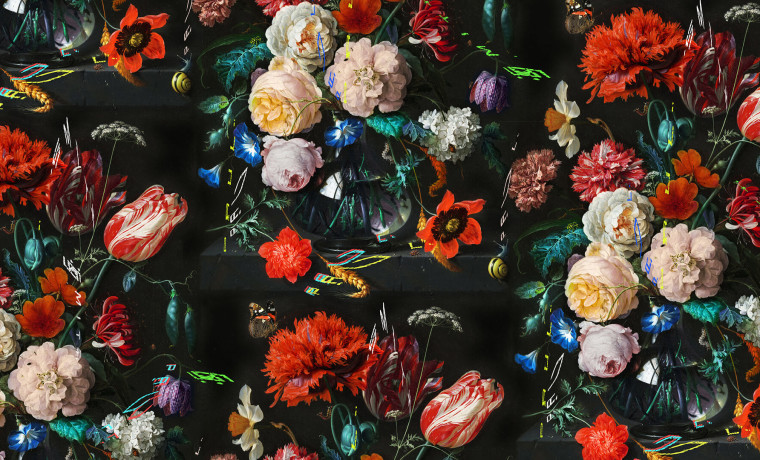 Paul Smith flower poster