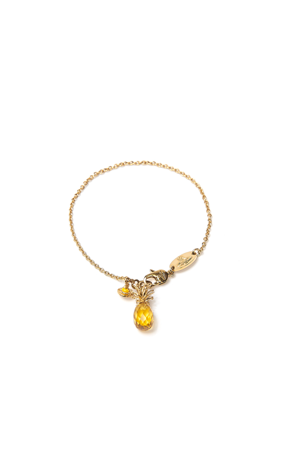 Vivienne Westwood Pineapple bracelet from Bicester Village