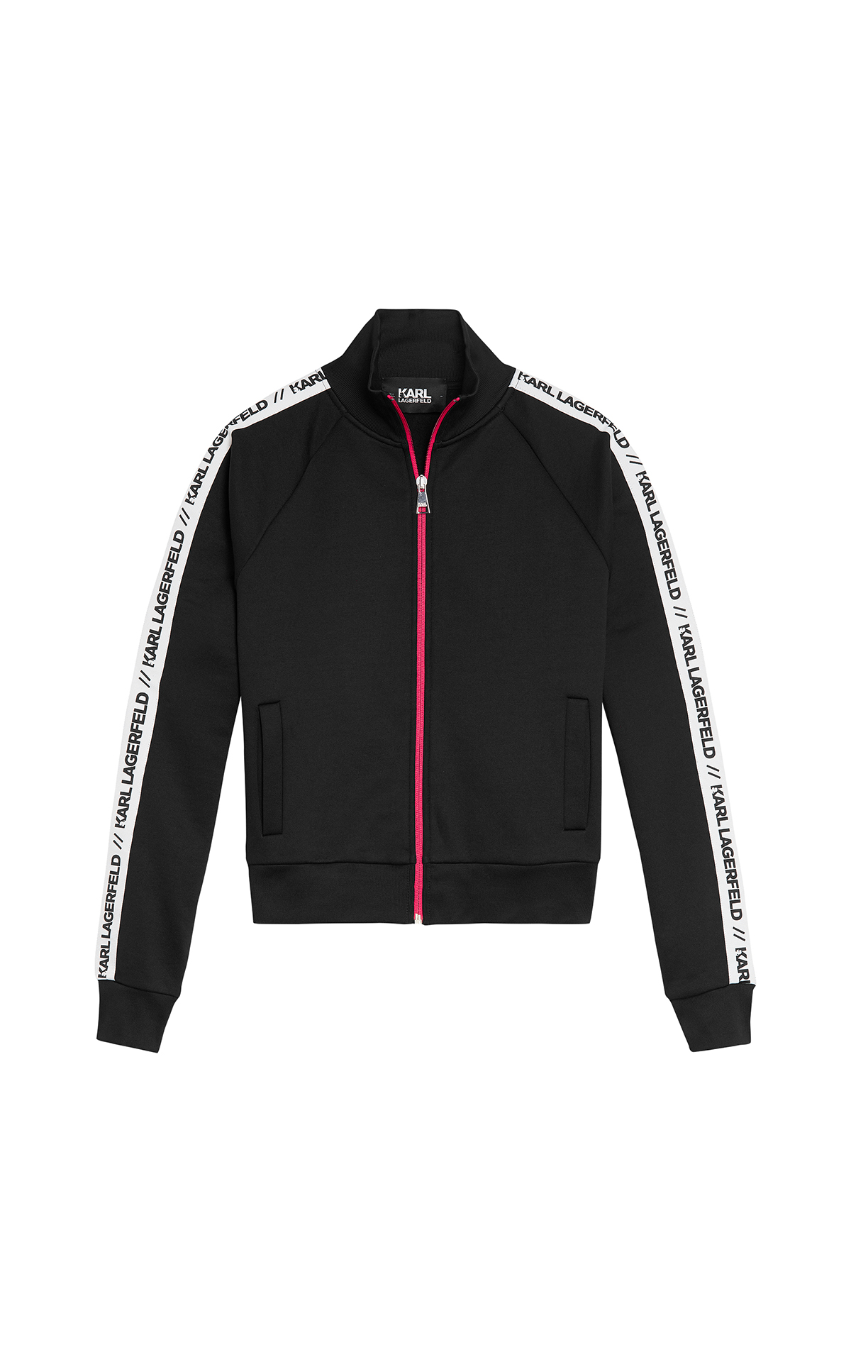 Karl Lagerfeld Zip Up Track Jacket