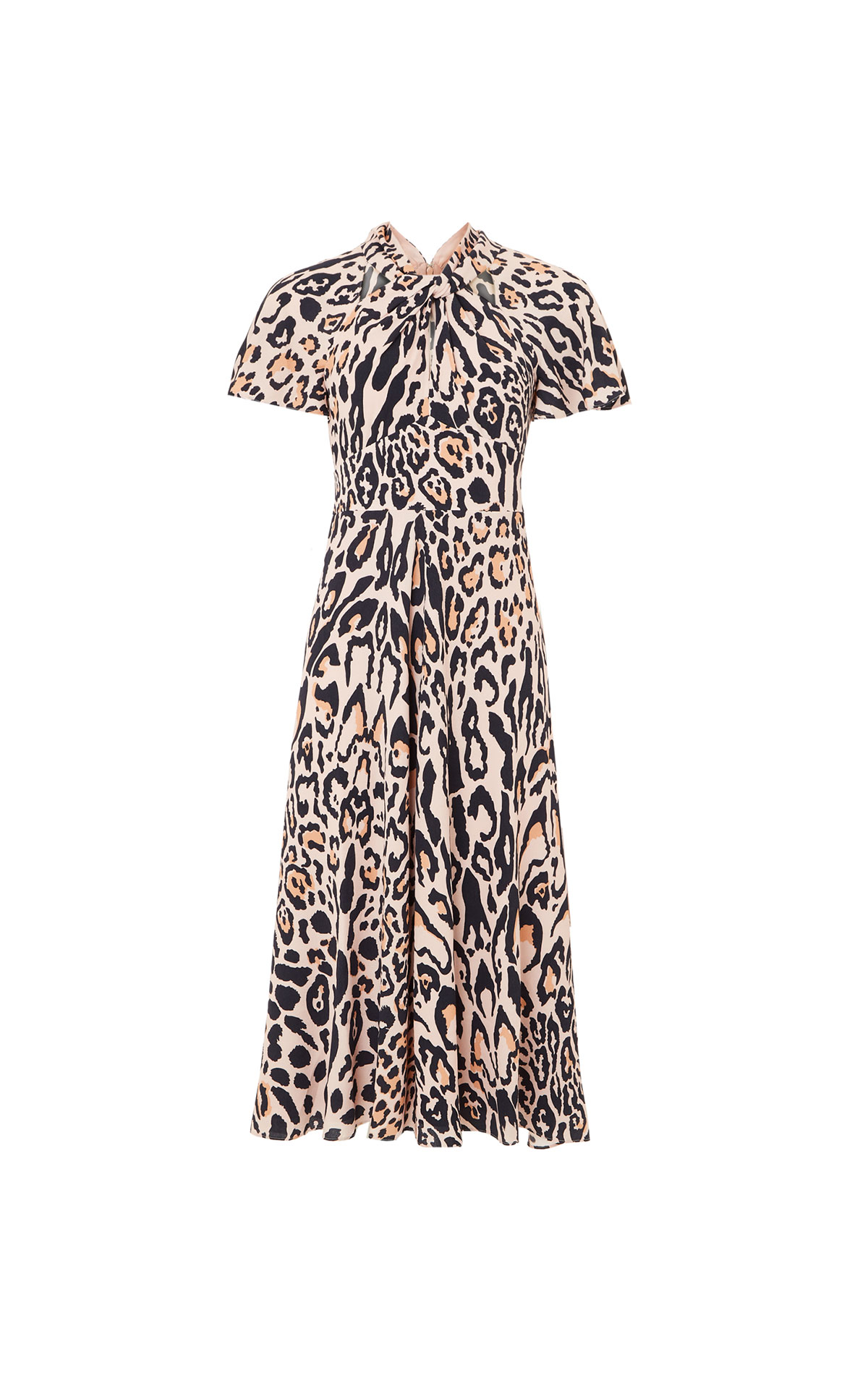Temperley London Wild cat midi dress from Bicester Village