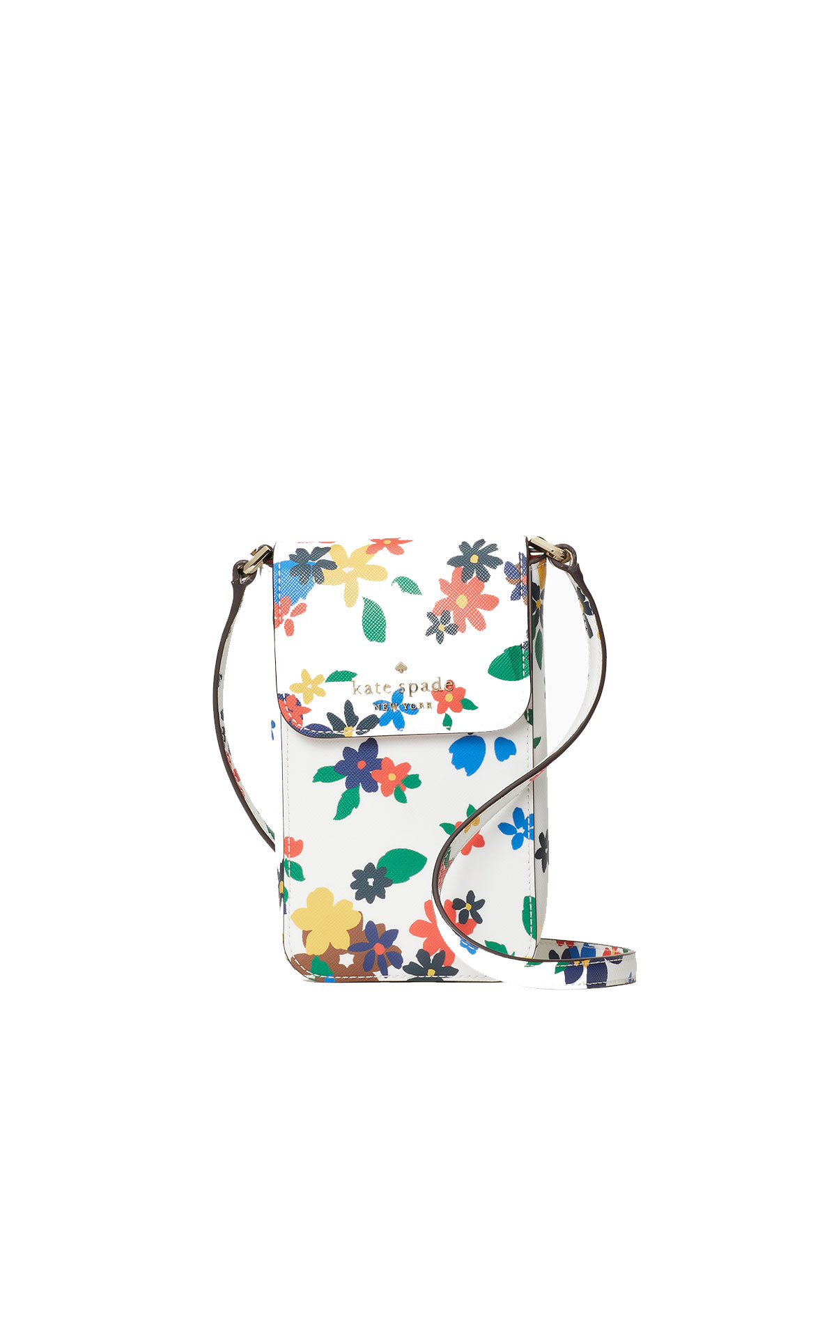 kate spade new york Staci sailing floral flap phone crossbody from Bicester Village