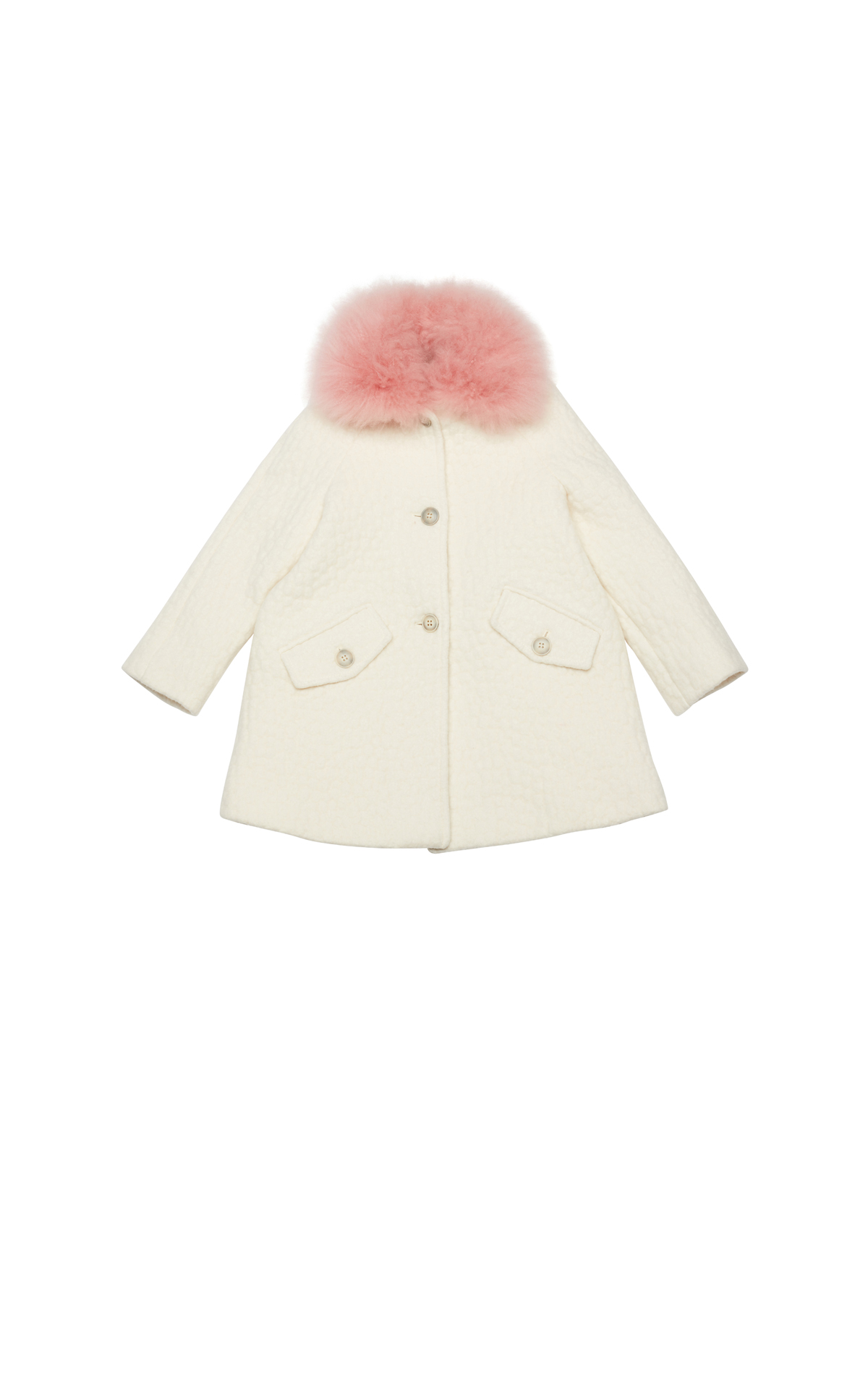 Bonpoint  White coat from Bicester Village