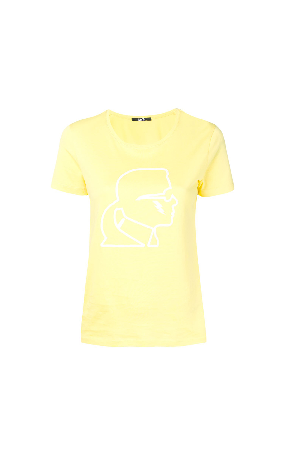 Karl Lagerfeld Ikonik Lightning Bolt Tee at The Bicester Village Shopping Collection