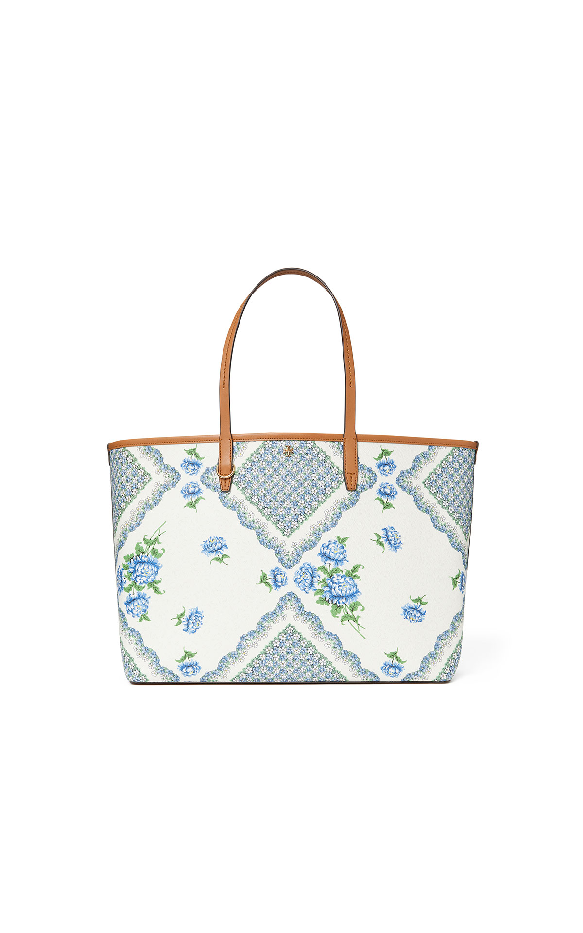 Tory Burch Emerson Daisy Applique Wristlet Zip Continent at The Bicester Village Shopping Collection