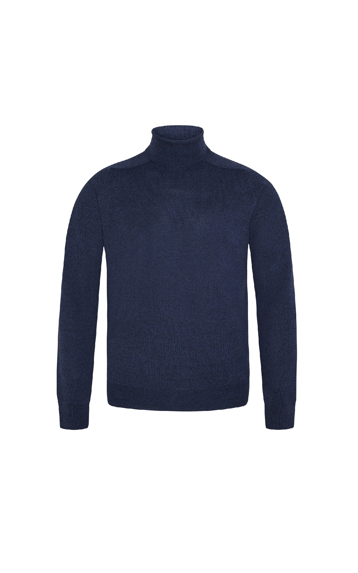 Navy blue turtleneck sweater Punto Blanco