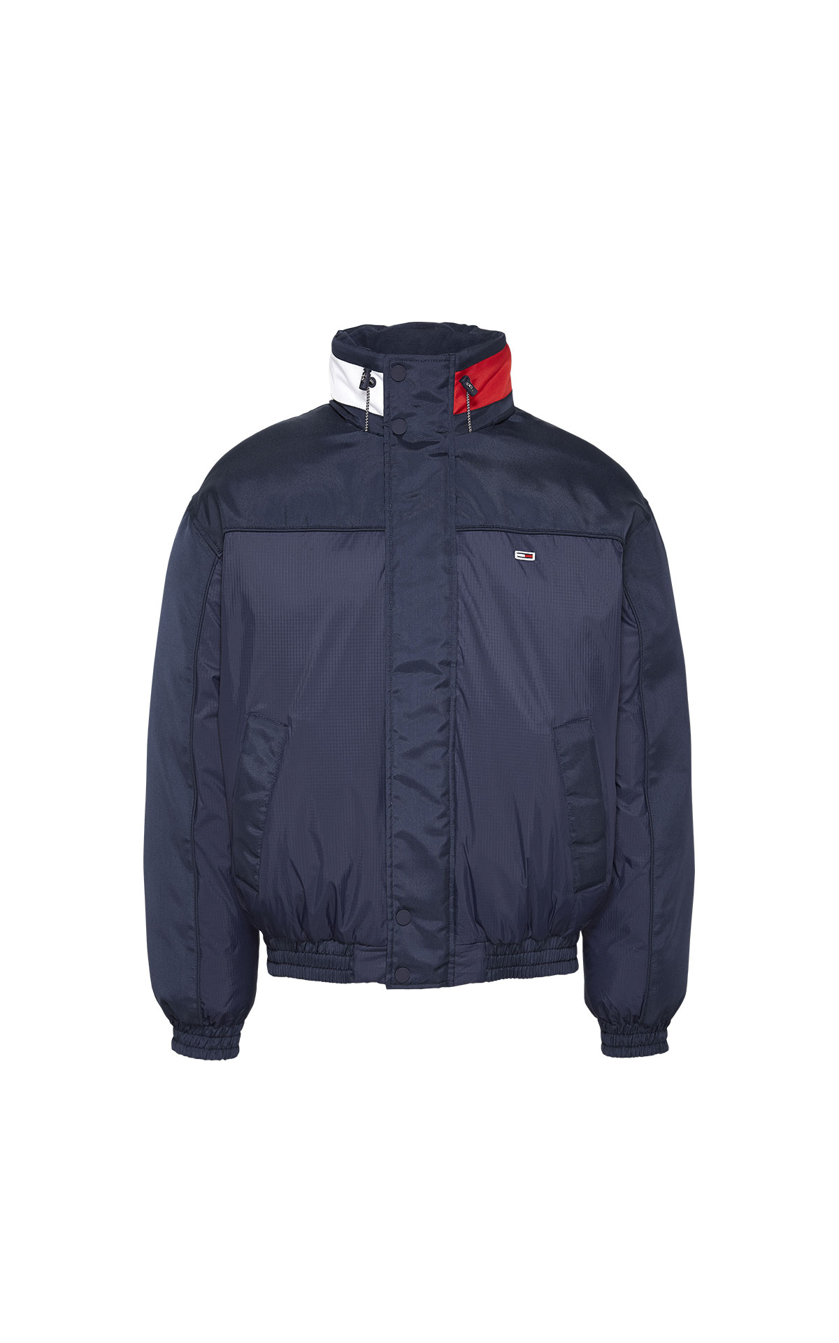 Tommy Hilfiger Men's Tommy Jeans Branded Collar Jacket at The Bicester Village Shopping Collection