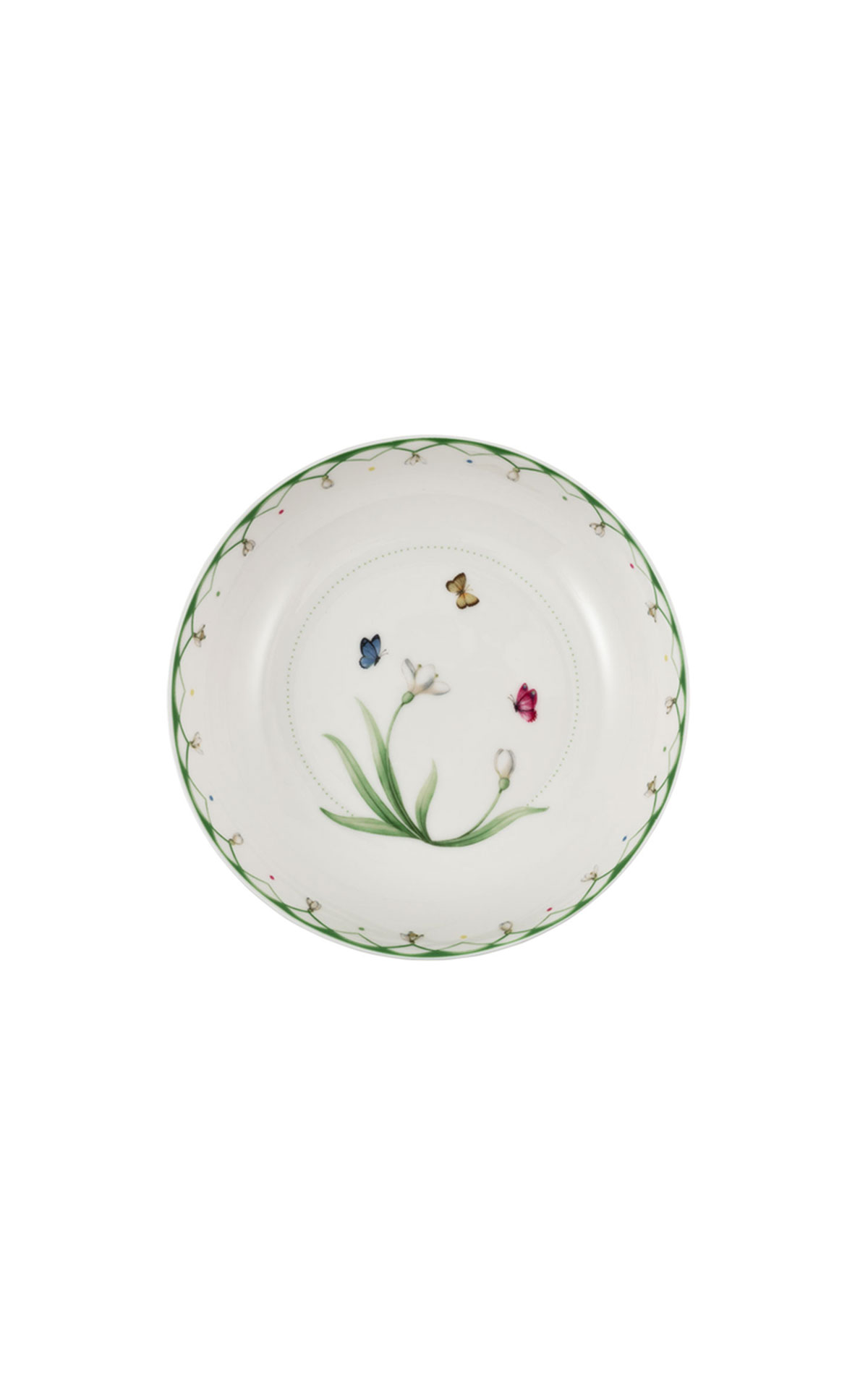 Villeroy and Boch Colourful spring salad plate from Bicester Village