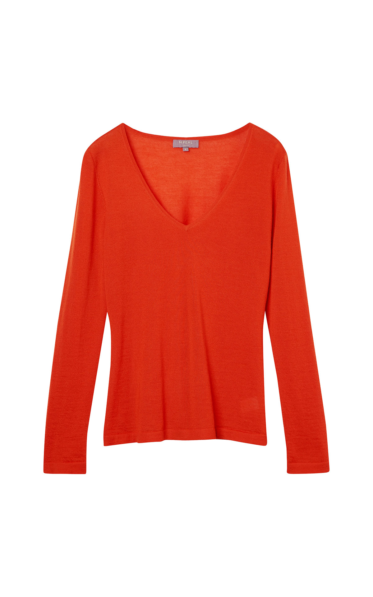 N. Peal SF v neck sweater from Bicester Village