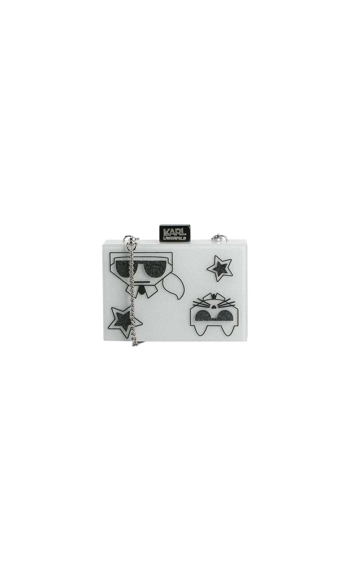 Karl Lagerfeld_kocktail couple minaudiere at The Bicester Village Shopping Collection