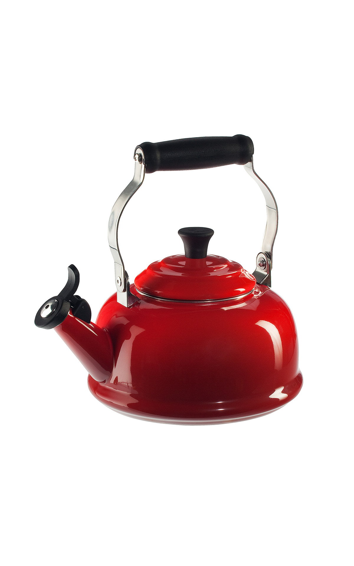 Red tea pot Le Creuset