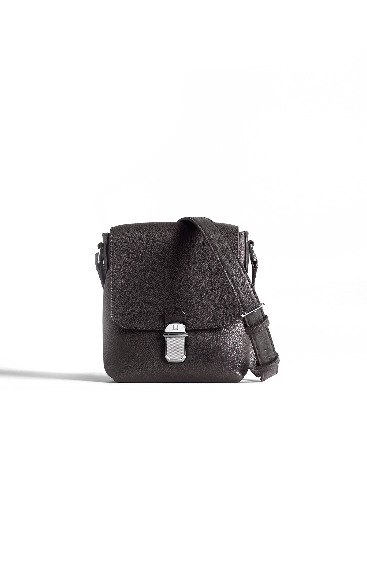 dunhill Brown saddle bag | La Vallée Village