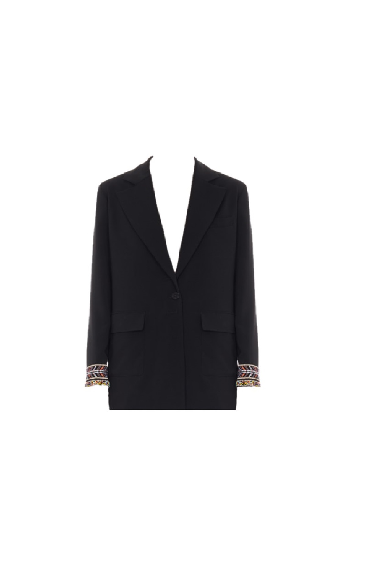 Black blazer woman Armani