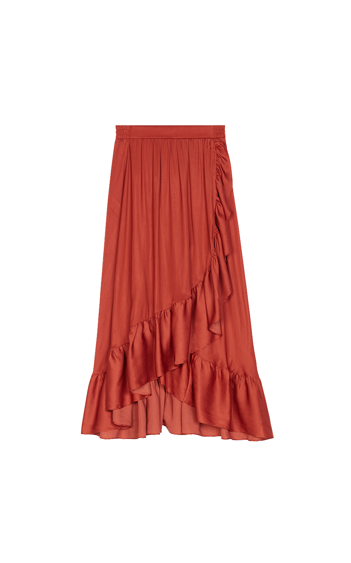 Maje Long skirt at The Bicester Village Shopping Collection