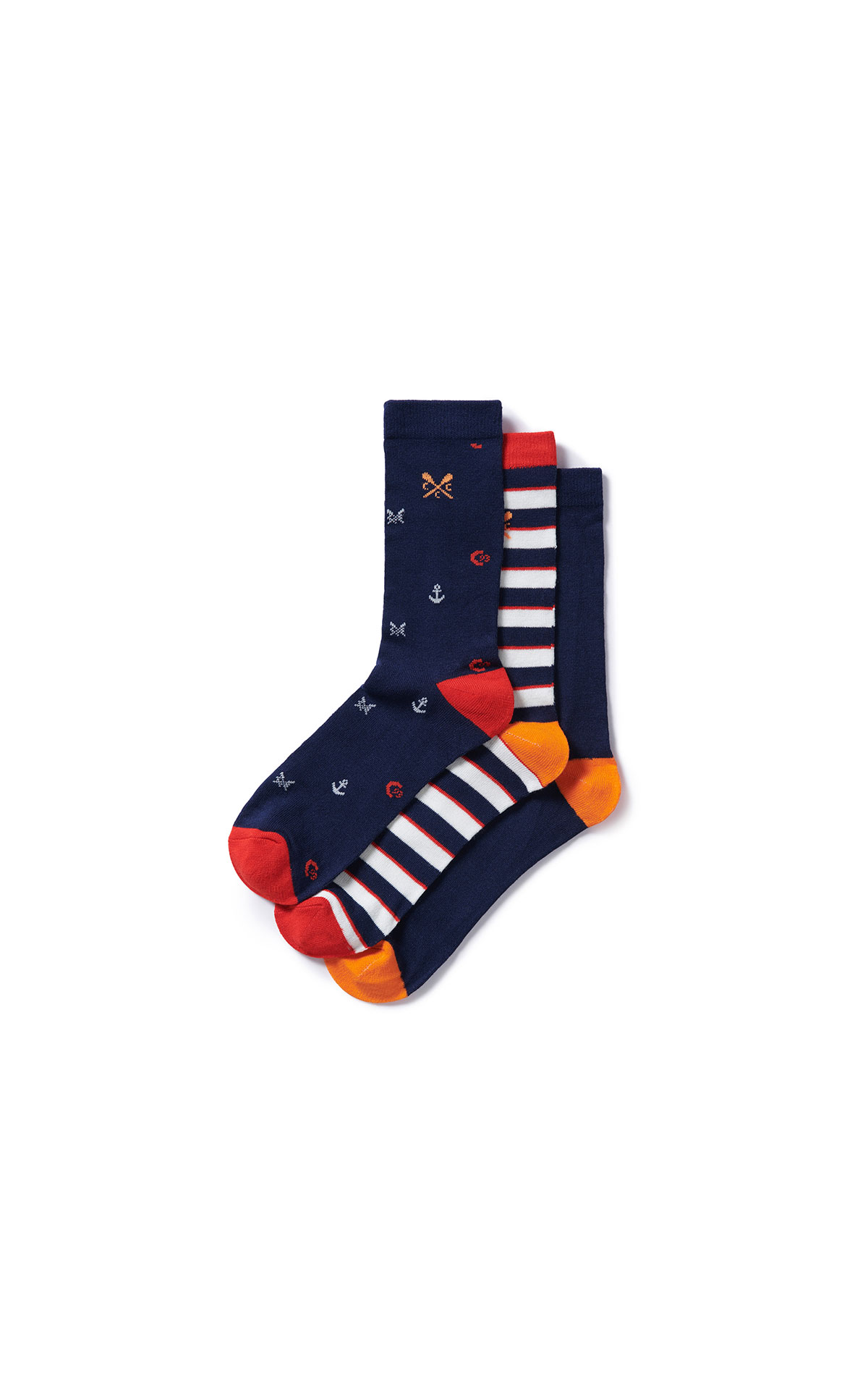 Savoy Taylors Guild Crew Clothing Company socks from Bicester Village