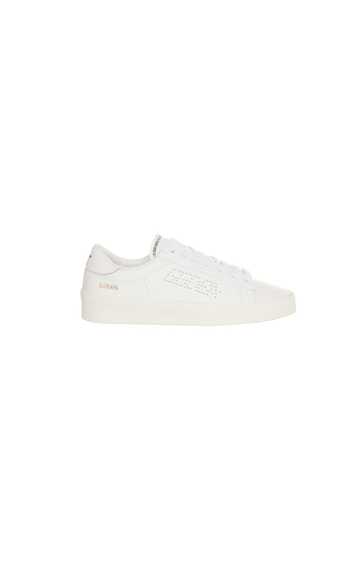 Golden Goose Deluxe Brand High end white leather sneaker from Bicester Village