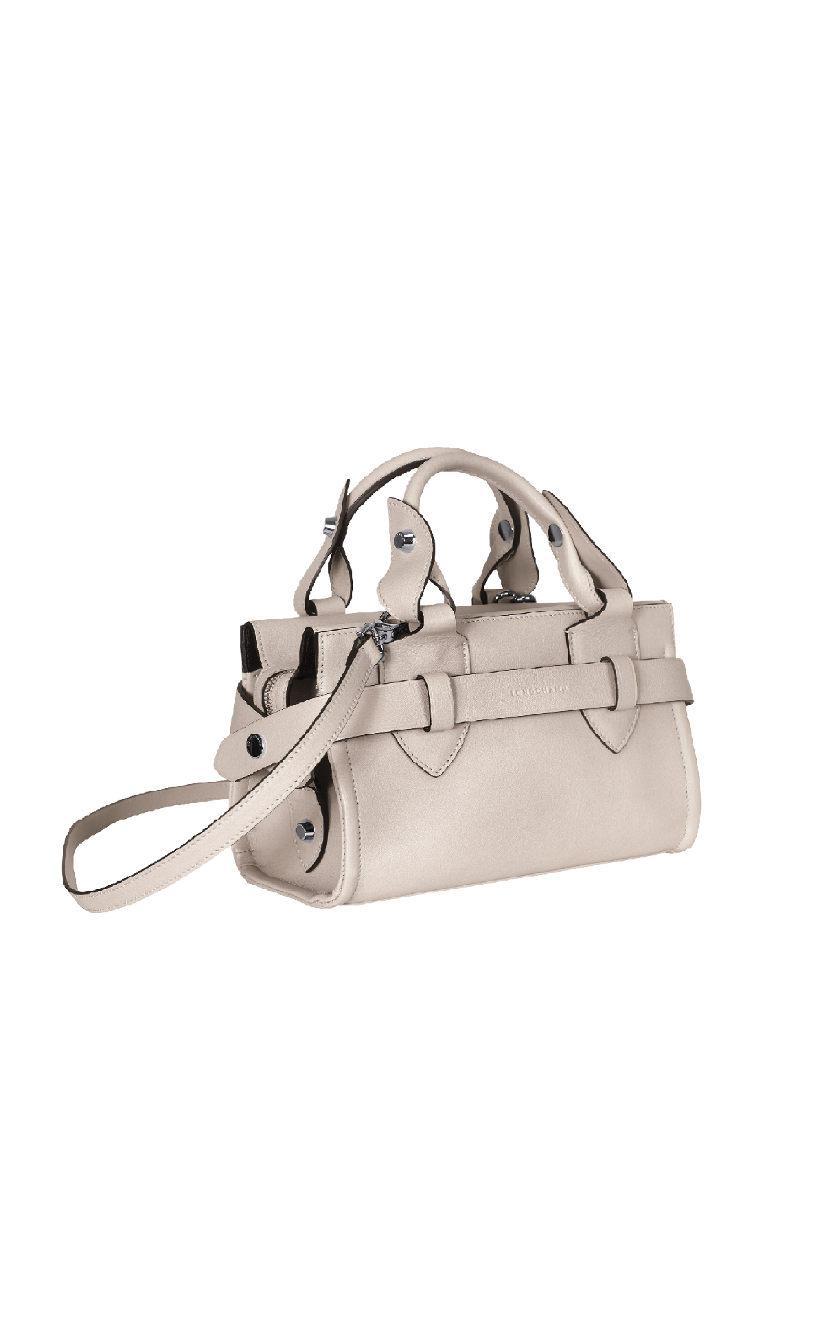 White leather bag Longchamp