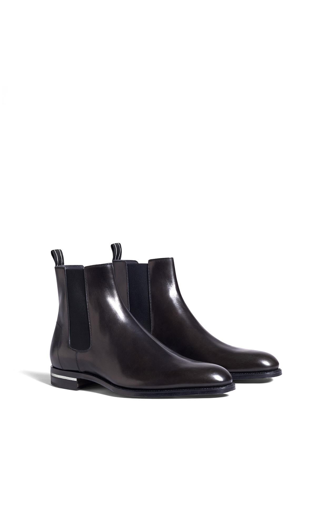 dunhill Brown Chelsea boots | La Vallée Village