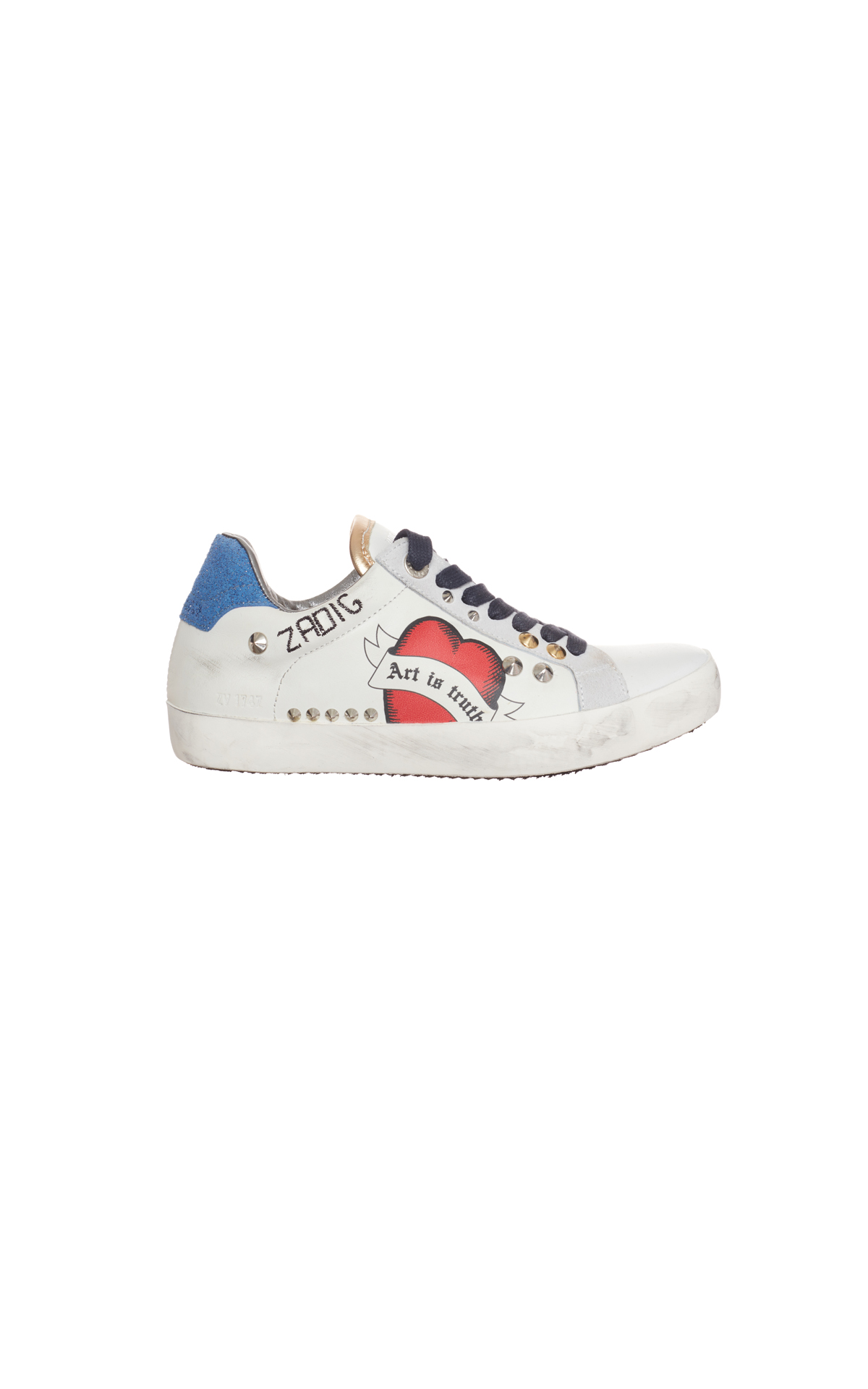 Zadig & Voltaire Art is truth sneakers from Bicester Village