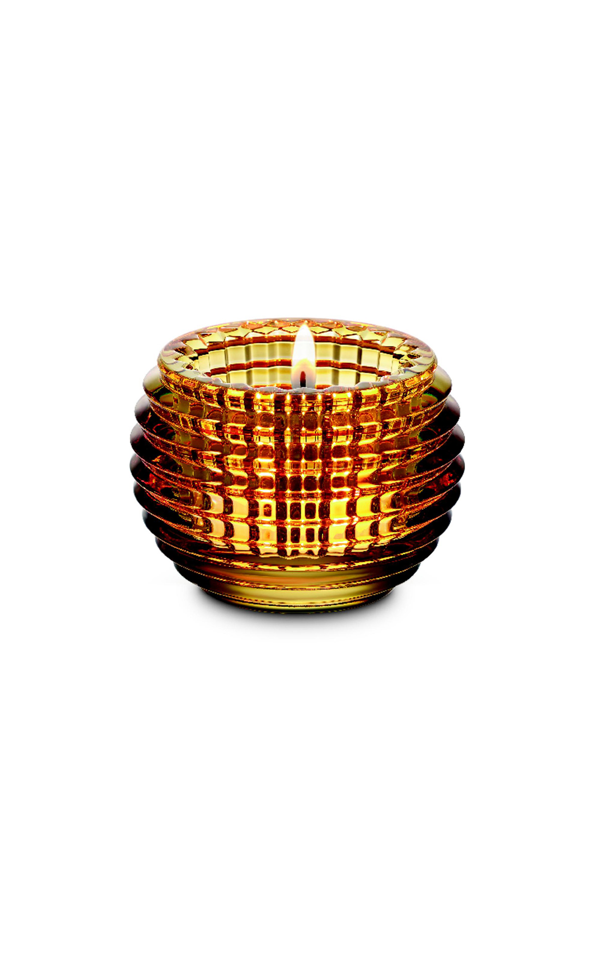 Baccarat yellow Eye candle holder | La Vallée Village
