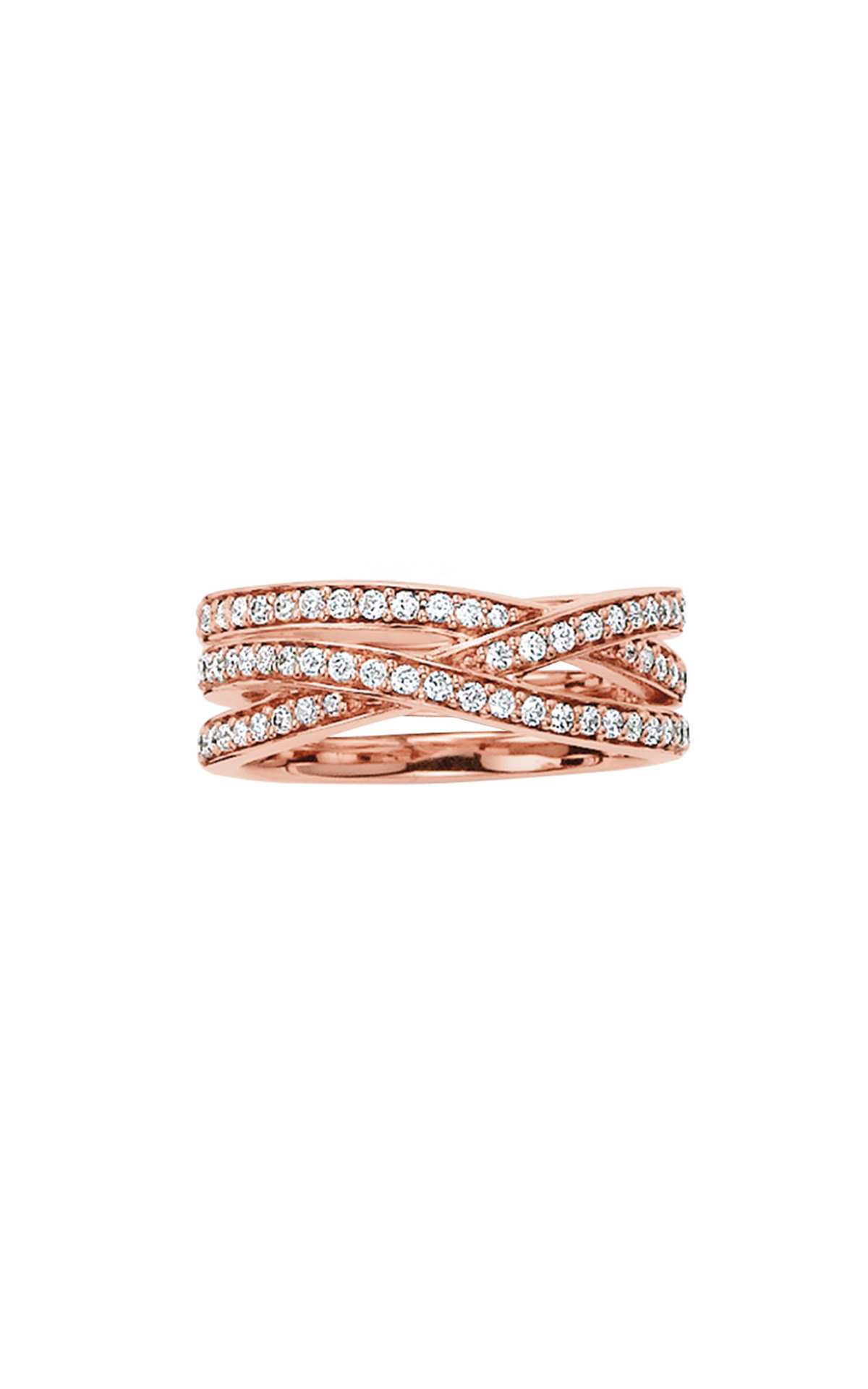 Pink ring with diamonds Thomas Sabo