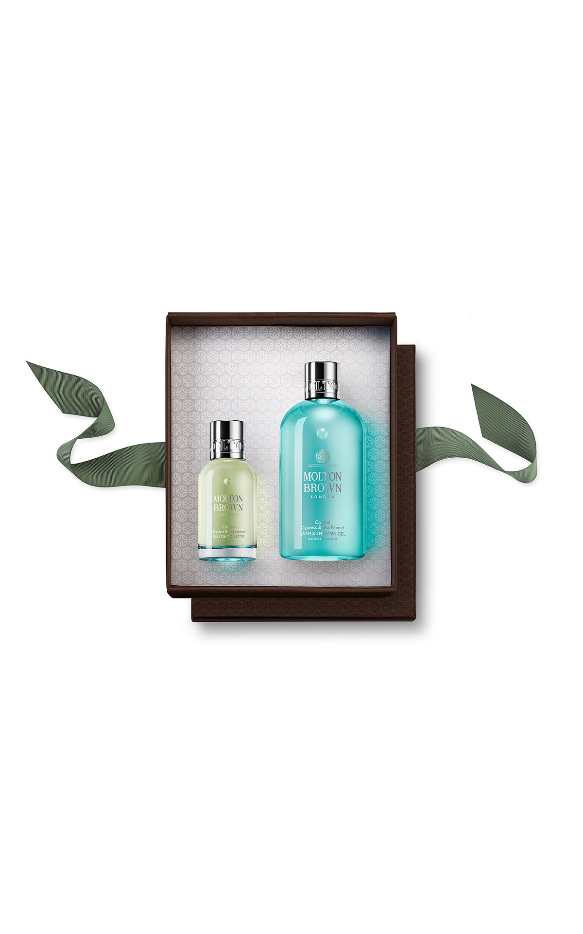 Molton Brown Coastal cypress & sea fennel fragrance rituals gift set from Bicester Village