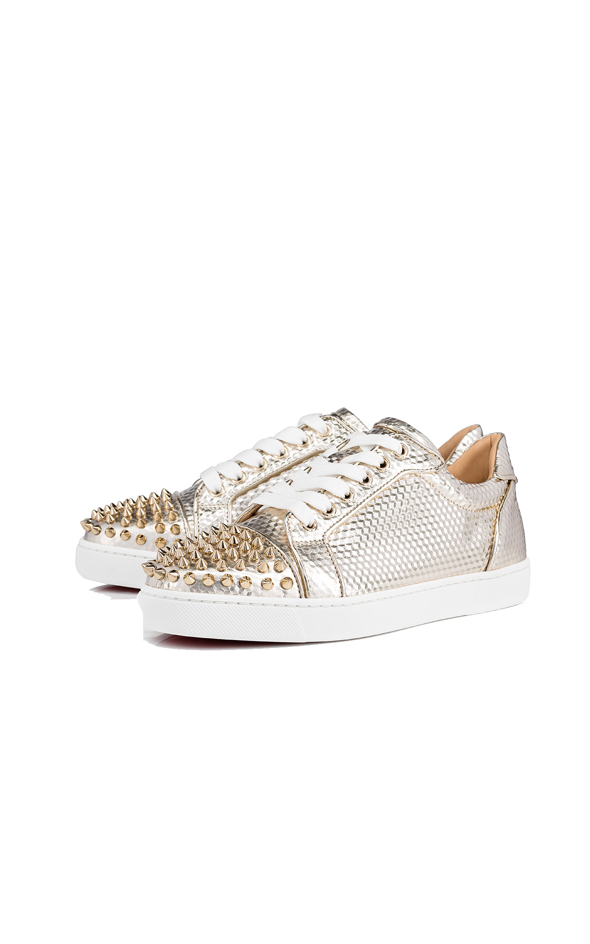 Christian Louboutin Vieira spikes orlato from Bicester Village