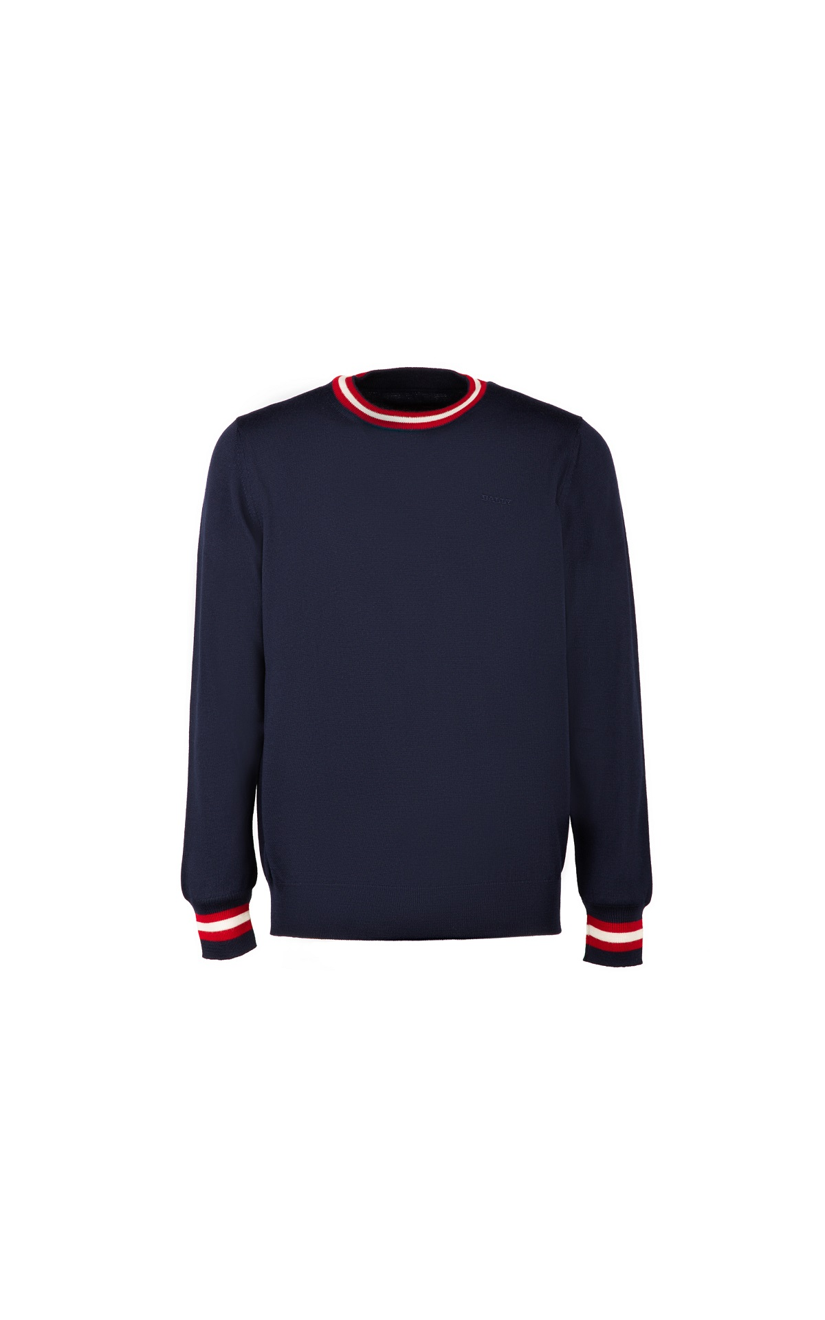 Navy blue cotton sweatshirt for man Bally