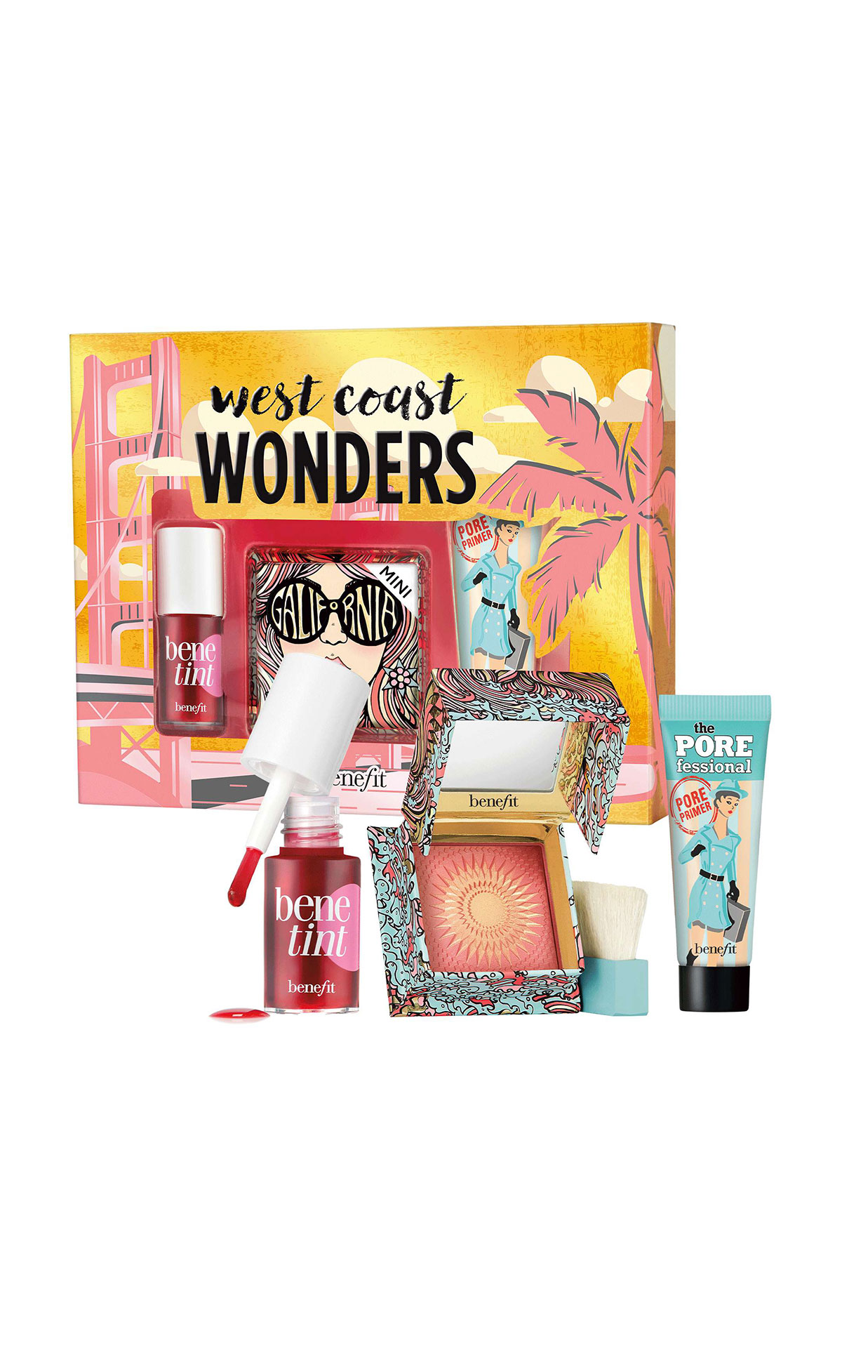 Benefit Cosmetics West Coast Wonders gift set from Bicester Village