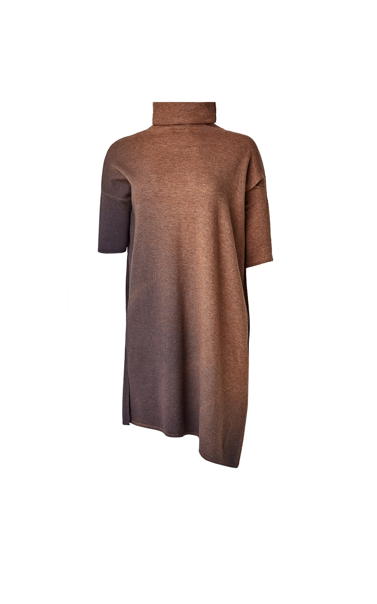 Gradient brown long sweater Adolfo Dominguez