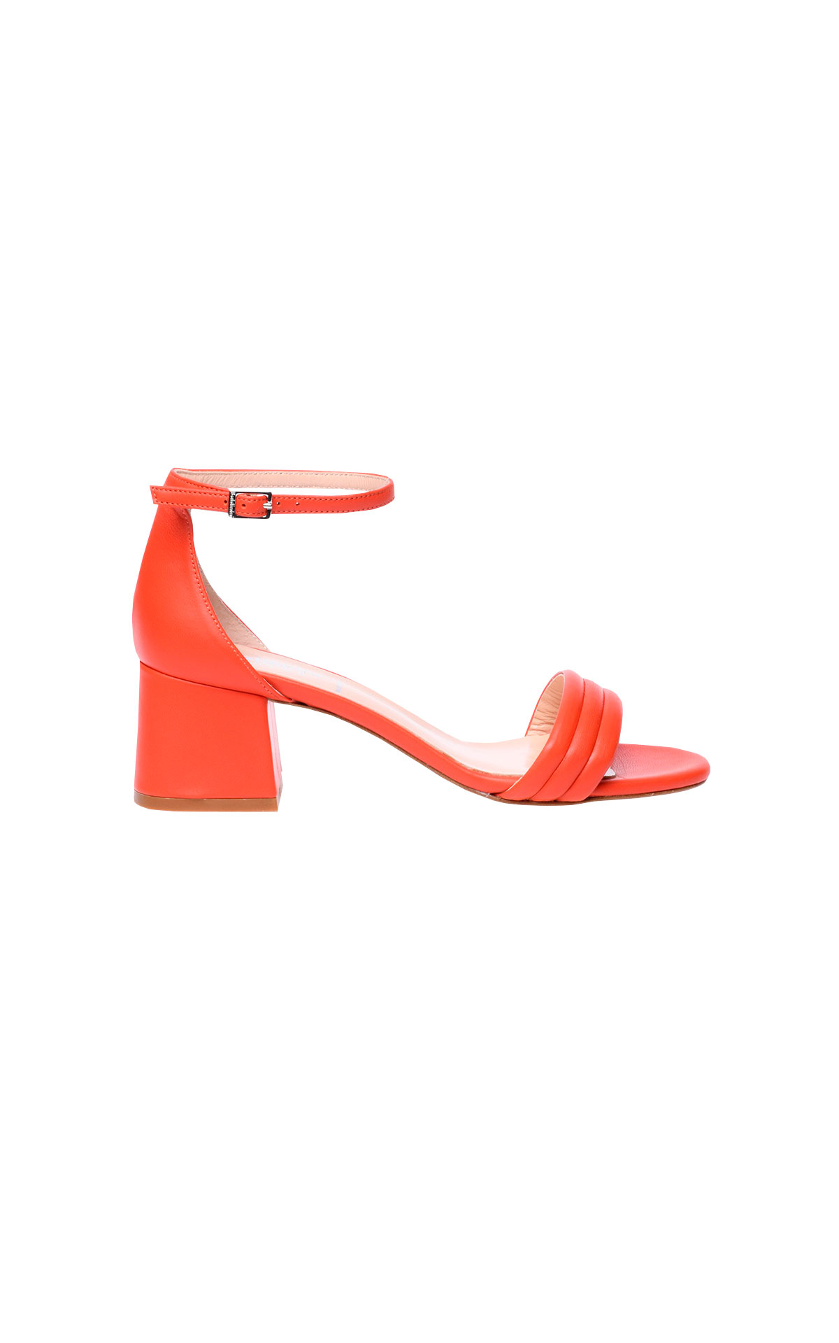 Orange sandals from Baldinini