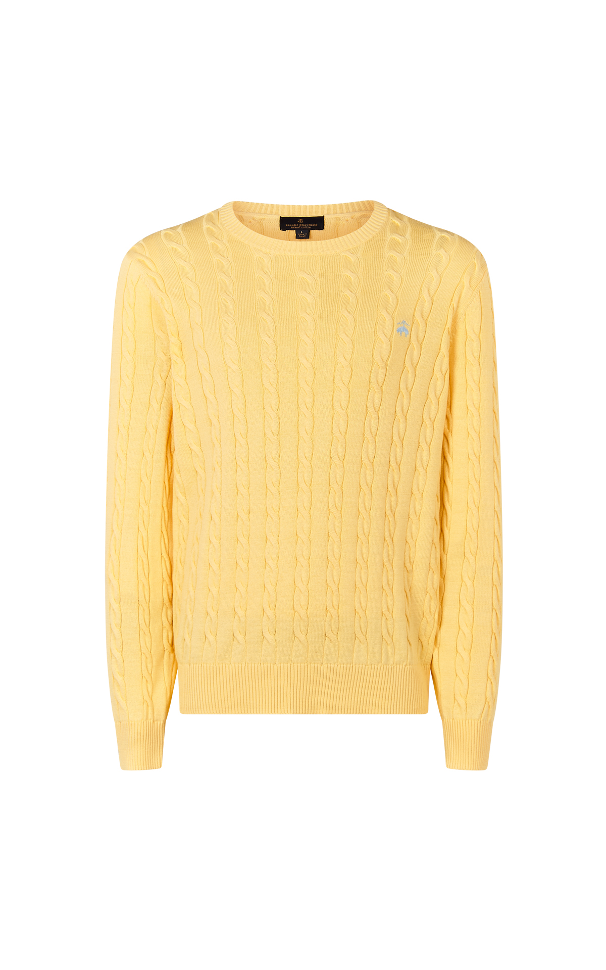 Yellow Jersey man Brooks Brothers