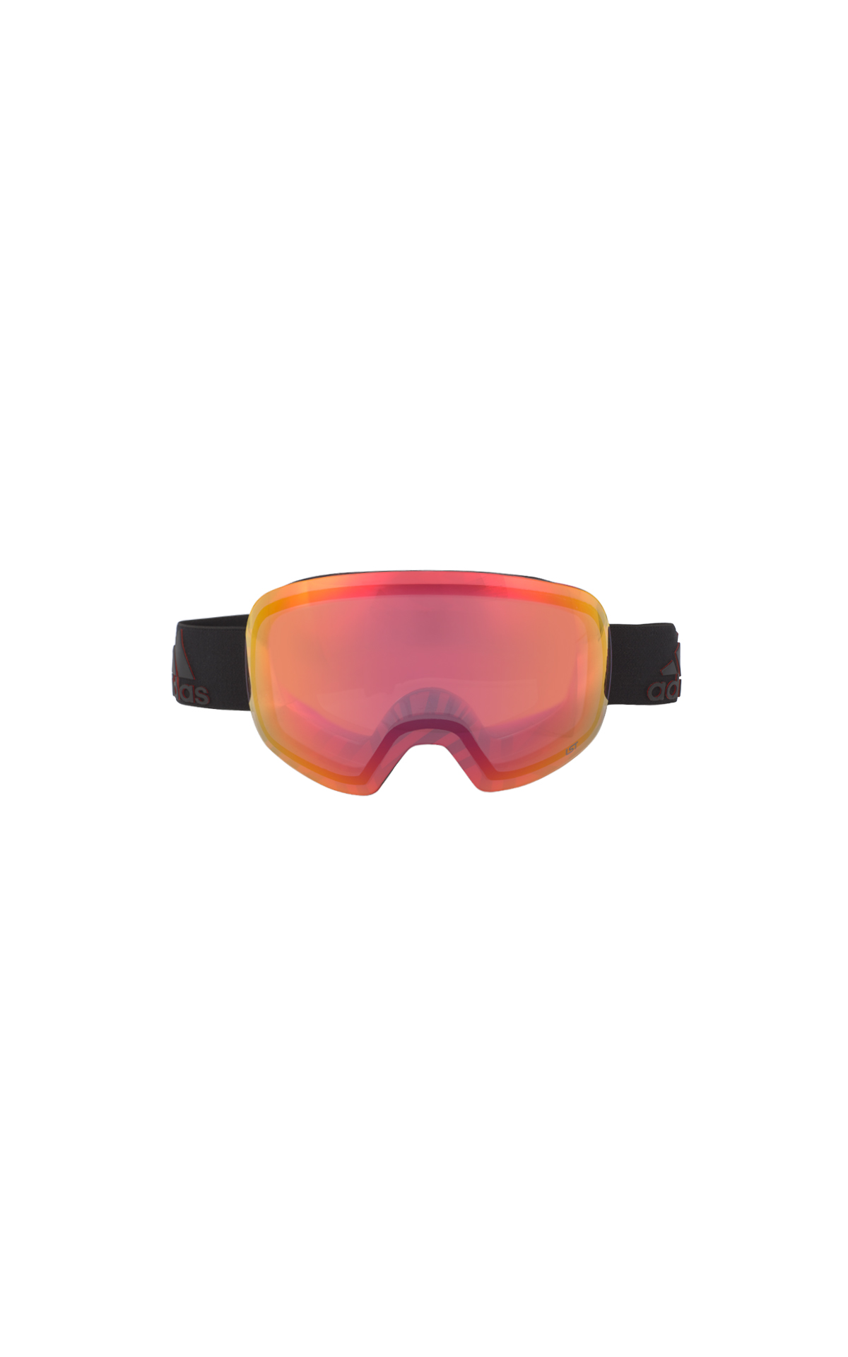 Orange snow glasses Adidas Cottet