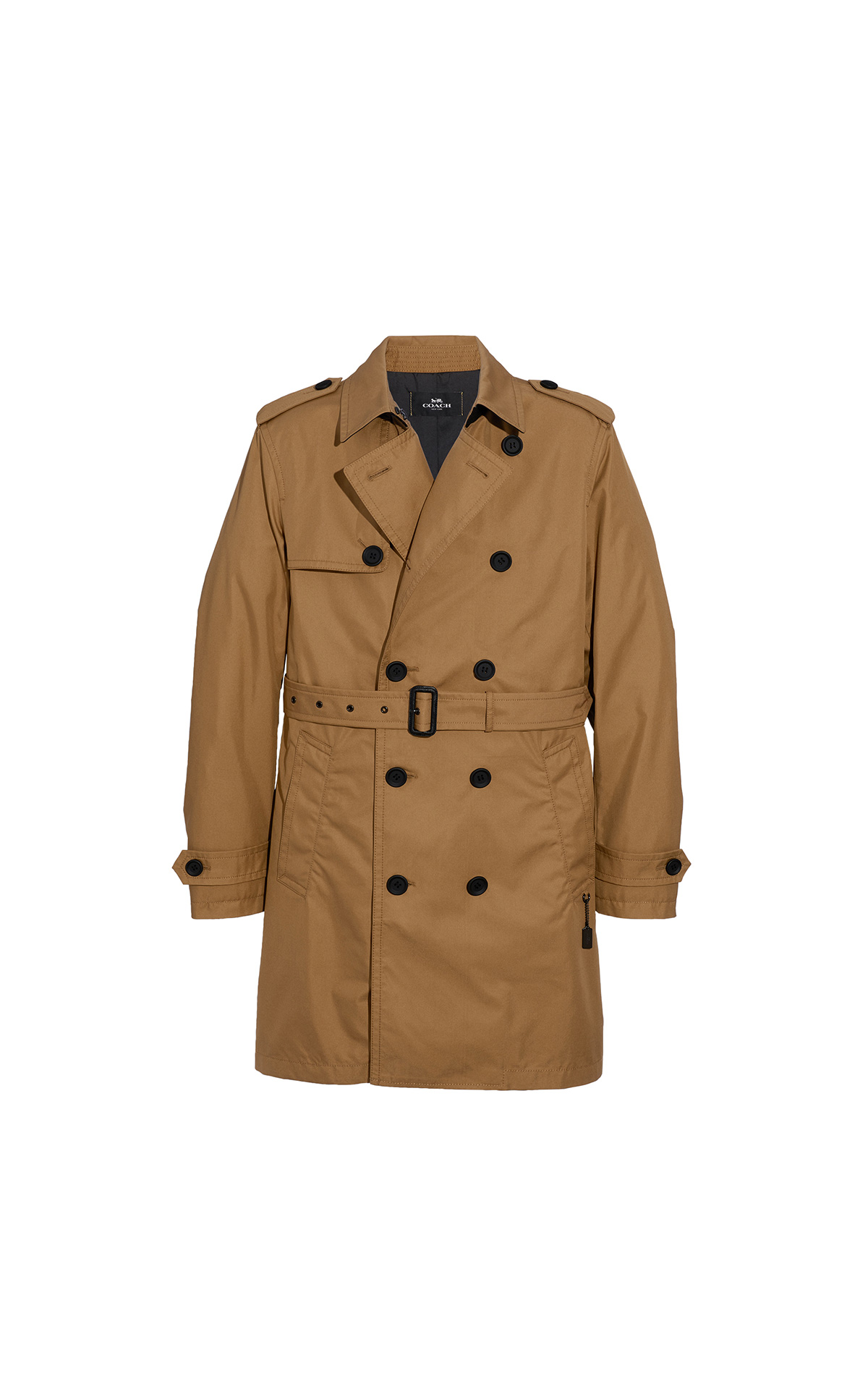 Coach Men's Trench Coat at The Bicester Village Shopping Collection