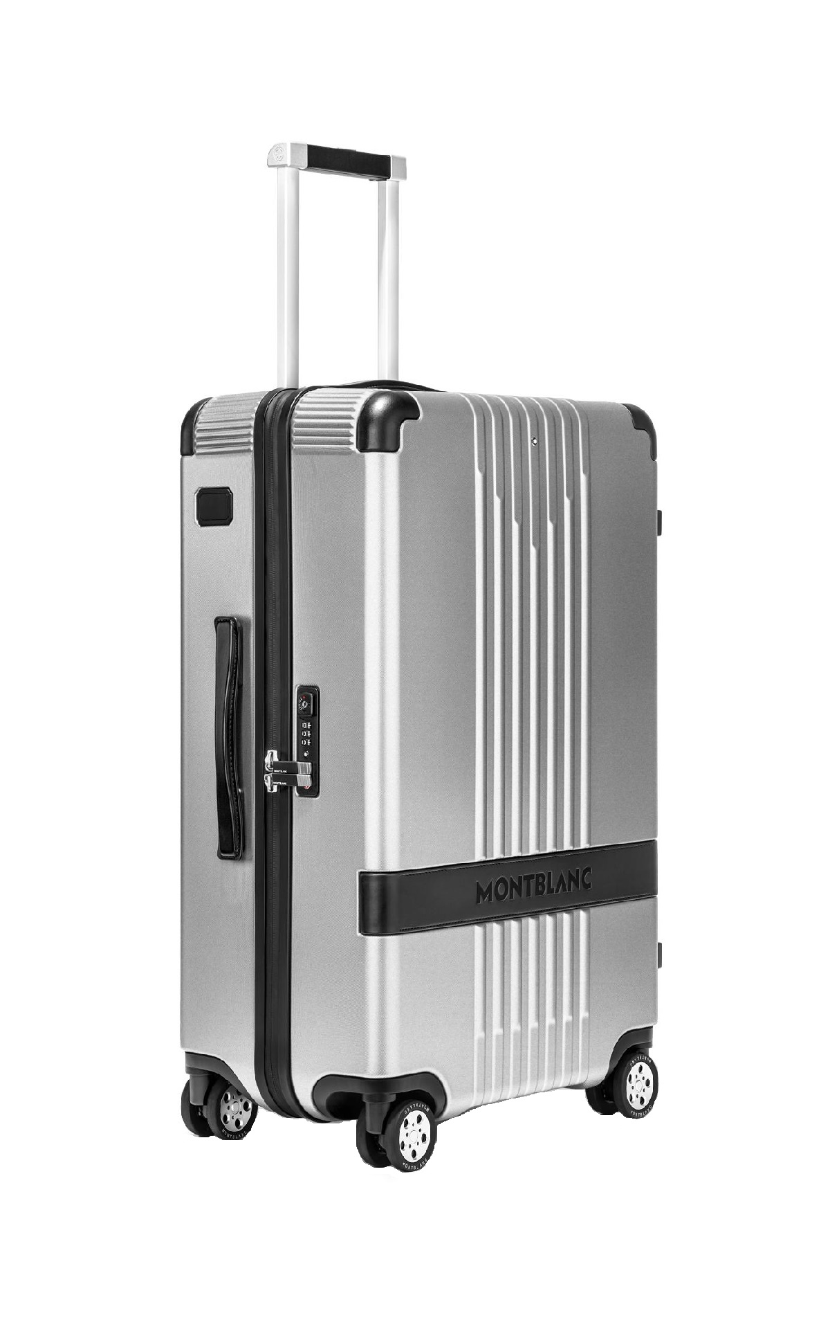 Silver cabine suitcase Montblanc