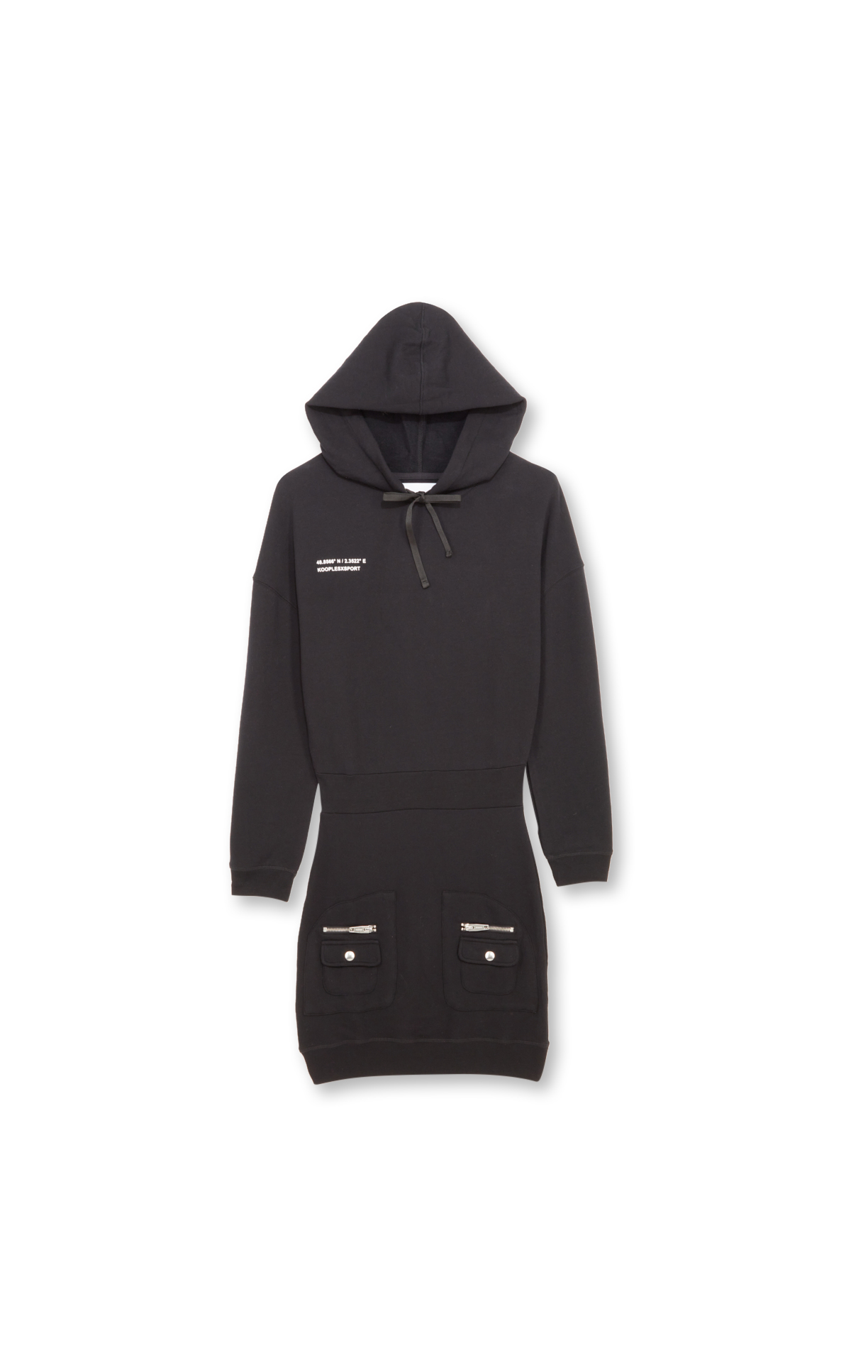 The Kooples Robe pull sport noire