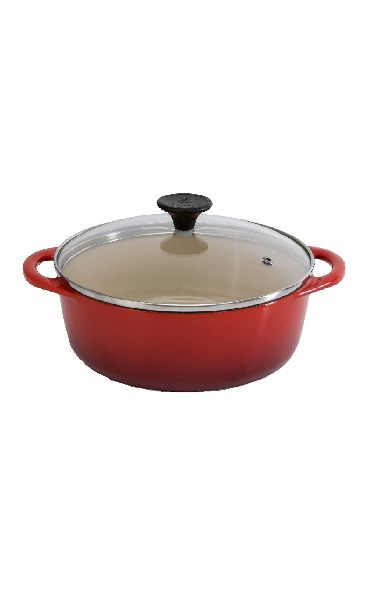 Cocotte with glass top Le Creuset