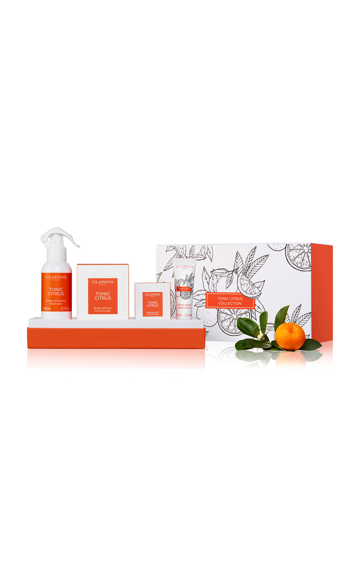 Clarins Tonic citrus collection from Bicester Village